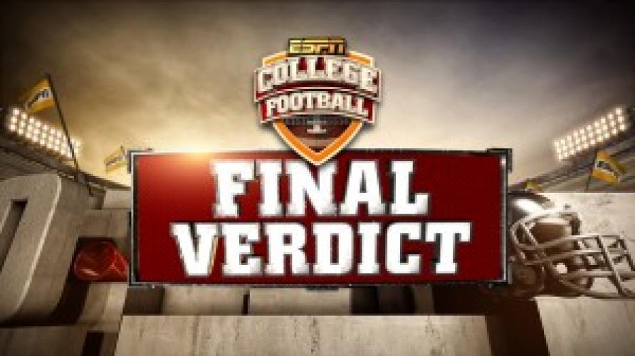 Final Verdict next episode air date poster