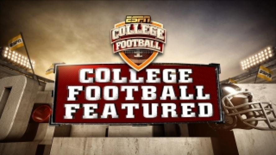 College Football Featured next episode air date poster