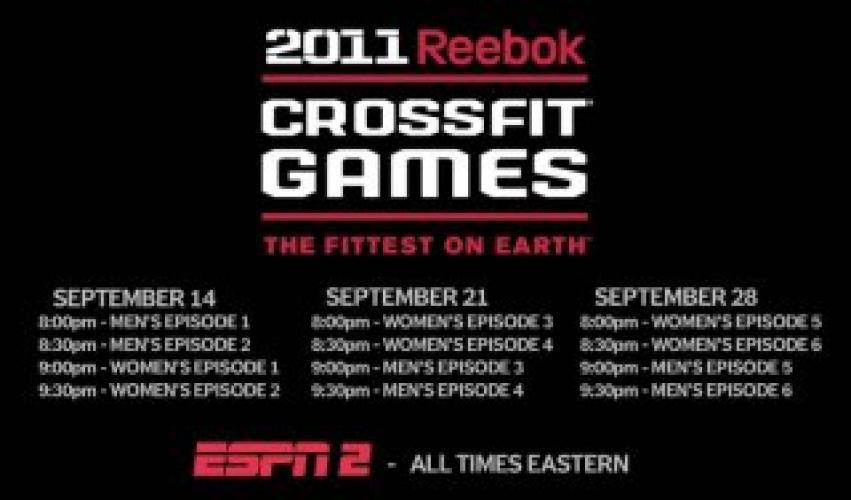 CrossFit Games next episode air date poster