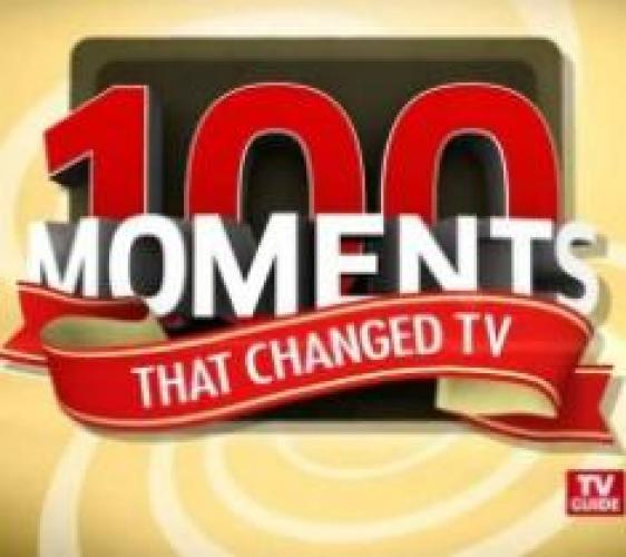 100 Moments That Changed TV next episode air date poster