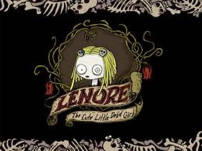 Lenore, the Cute Little Dead Girl next episode air date poster