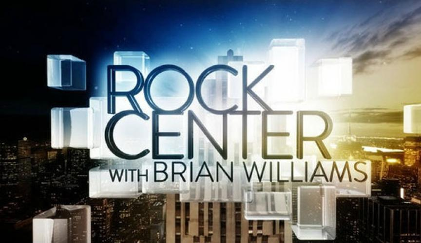 Rock Center with Brian Williams next episode air date poster