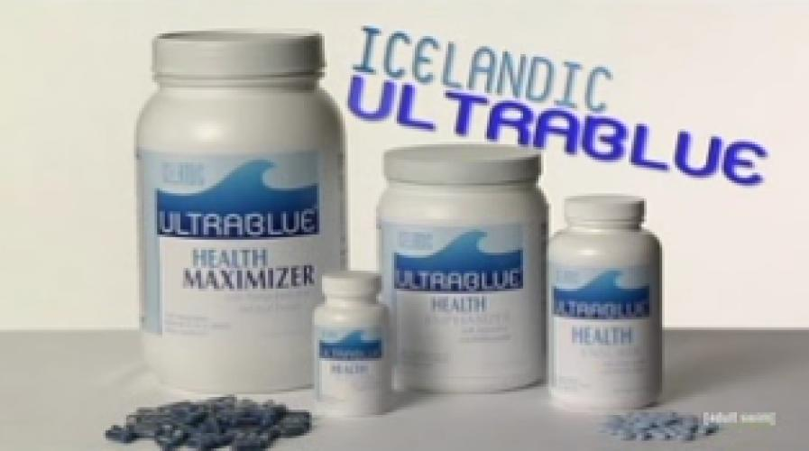Paid Programming: Icelandic Ultra Blue next episode air date poster