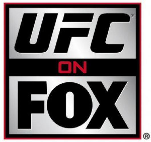 UFC on FOX next episode air date poster