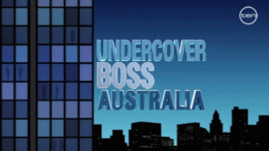 Undercover Boss Australia next episode air date poster
