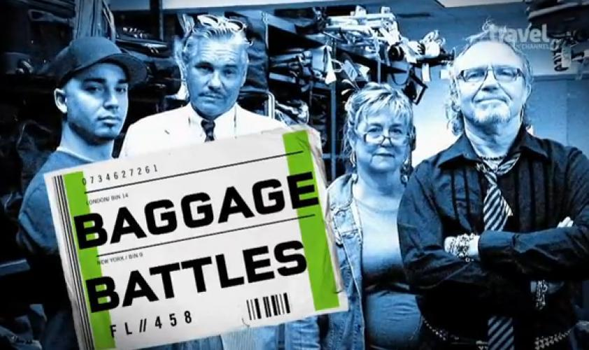 Baggage Battles next episode air date poster