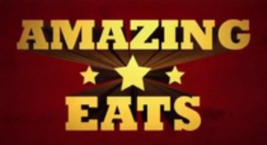 Amazing Eats next episode air date poster