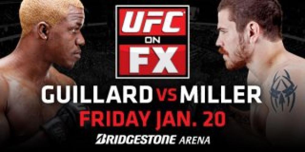 UFC on FX next episode air date poster