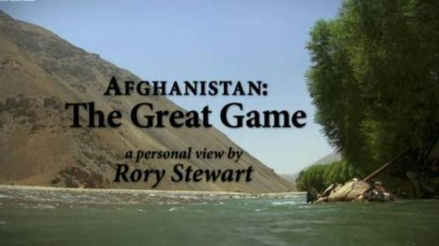Afghanistan: The Great Game With Rory Stewart next episode air date poster