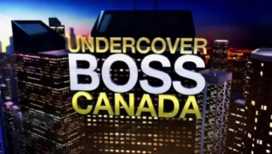 Undercover Boss Canada next episode air date poster