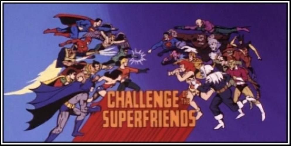 Challenge of the SuperFriends next episode air date poster