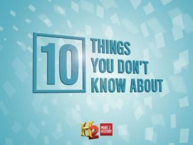 10 Things You Don't Know About next episode air date poster