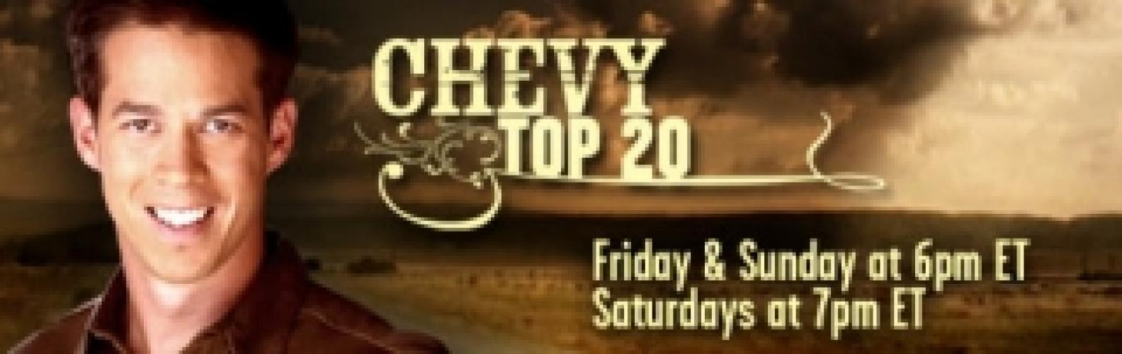 Chevy Top 20 next episode air date poster