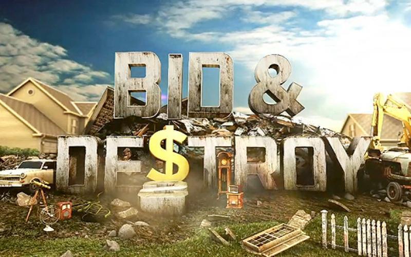 Bid & Destroy next episode air date poster