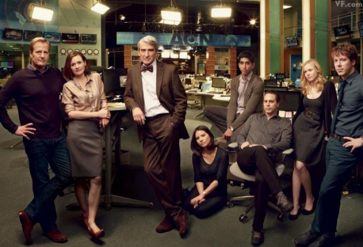 The Newsroom next episode air date poster