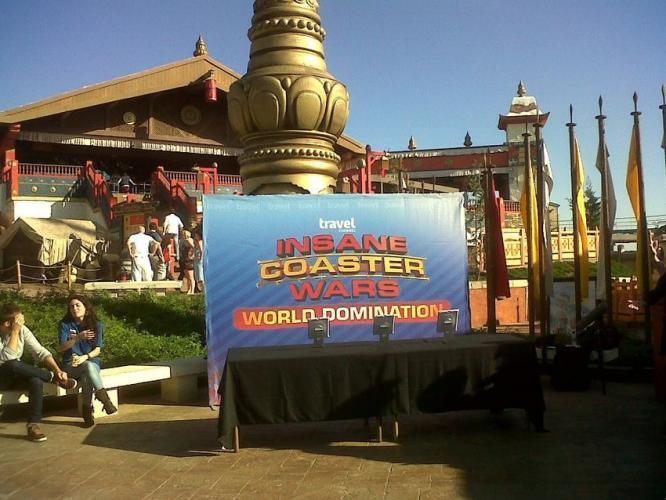 Insane Coaster Wars: World Domination next episode air date poster