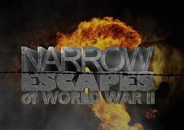 Narrow Escapes of WWII next episode air date poster
