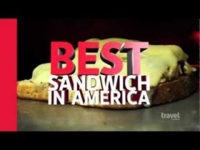 Adam Richman's Best Sandwich In America next episode air date poster