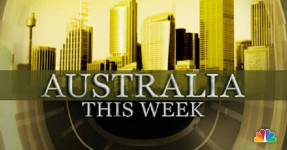 Australia This Week next episode air date poster