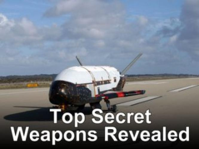 Top Secret Weapons Revealed next episode air date poster