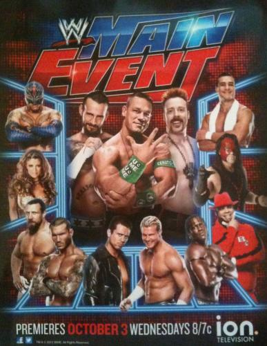 WWE Main Event next episode air date poster