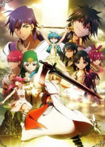 Magi: The Labyrinth of Magic next episode air date poster