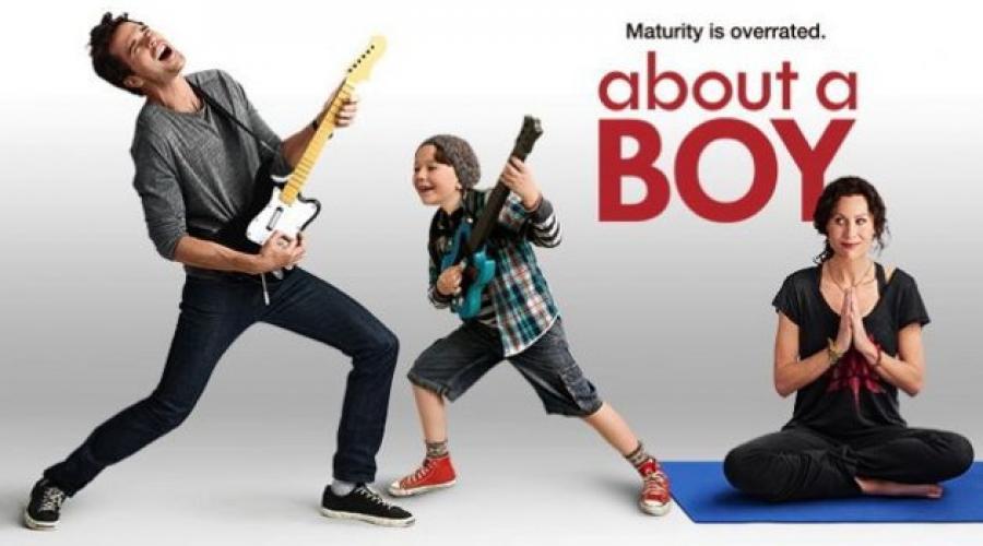 About a Boy next episode air date poster