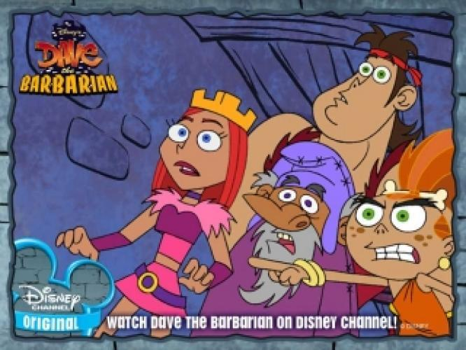 Dave the Barbarian next episode air date poster