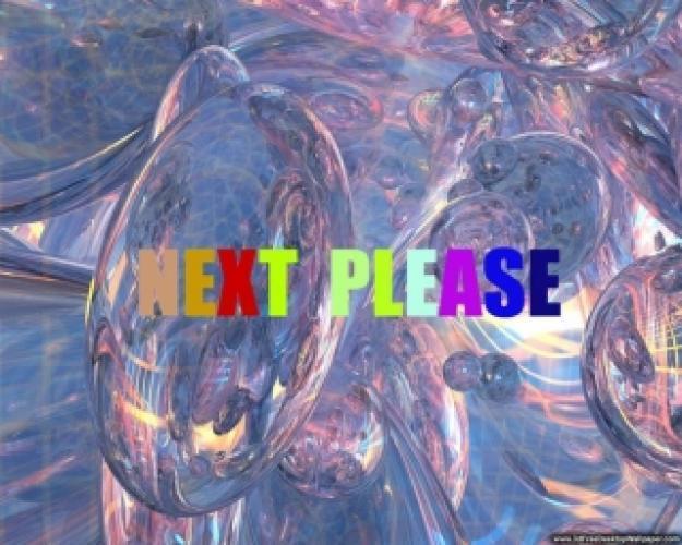 Next, Please! next episode air date poster