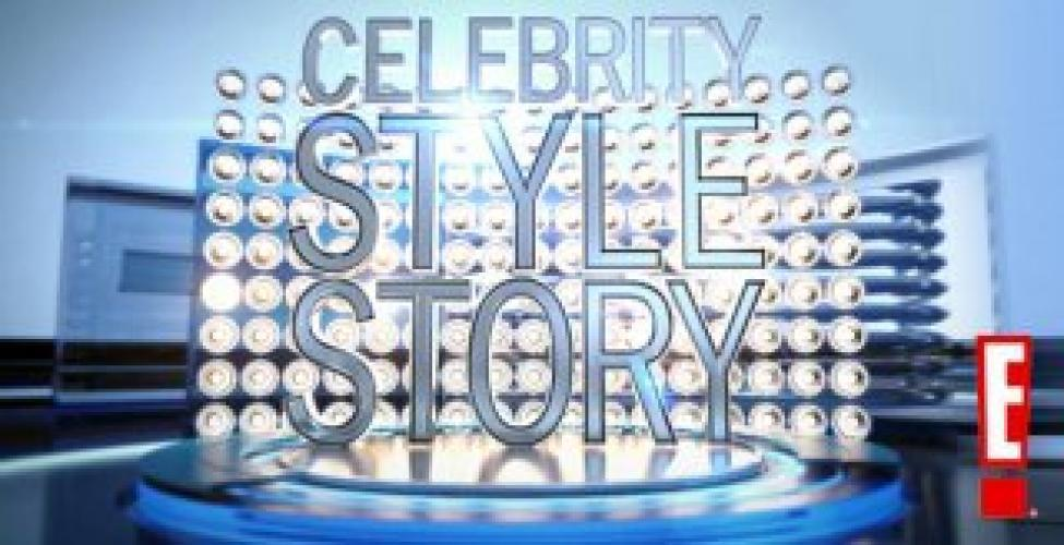 Celebrity Style Story next episode air date poster