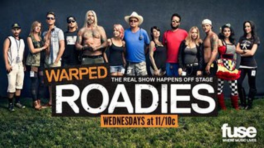 Warped Roadies next episode air date poster