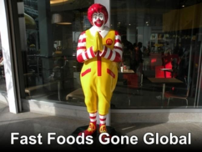 Fast Foods Gone Global next episode air date poster