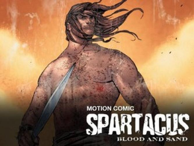 Spartacus: Blood and Sand - Motion Comic next episode air date poster
