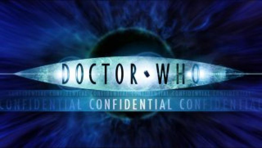 Doctor Who Confidential next episode air date poster