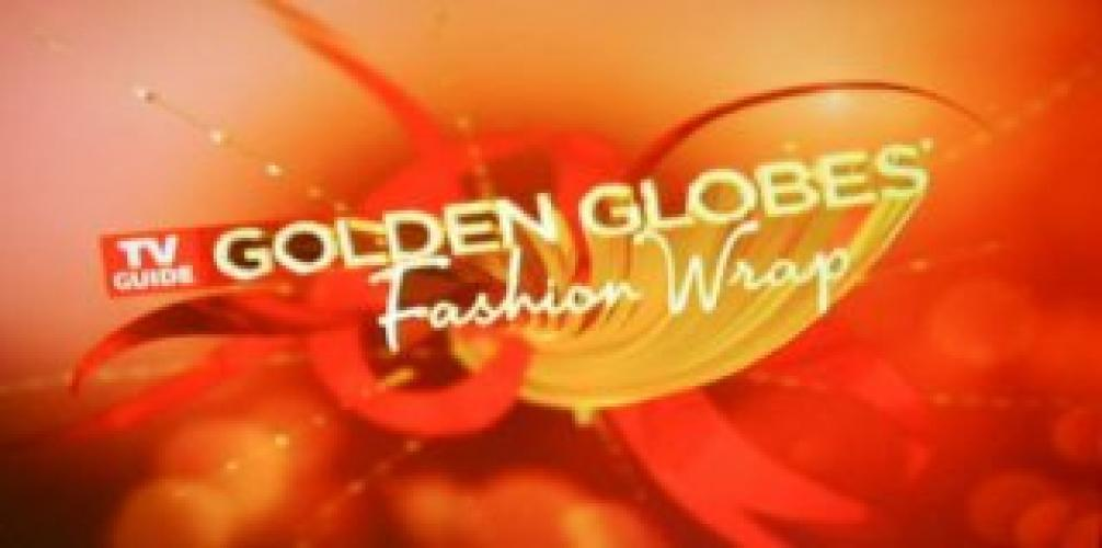 Golden Globes Fashion Wrap next episode air date poster