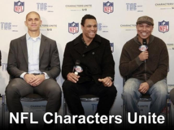 NFL Characters Unite next episode air date poster