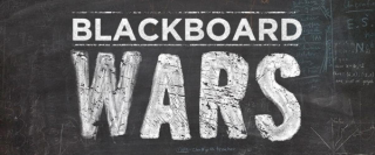 Blackboard Wars next episode air date poster