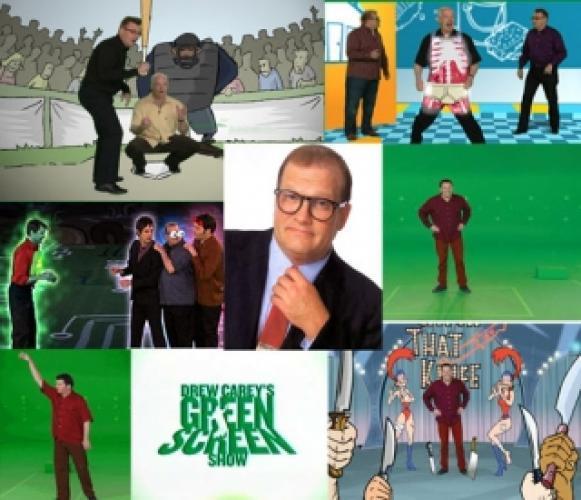 Drew Carey's Green Screen Show next episode air date poster