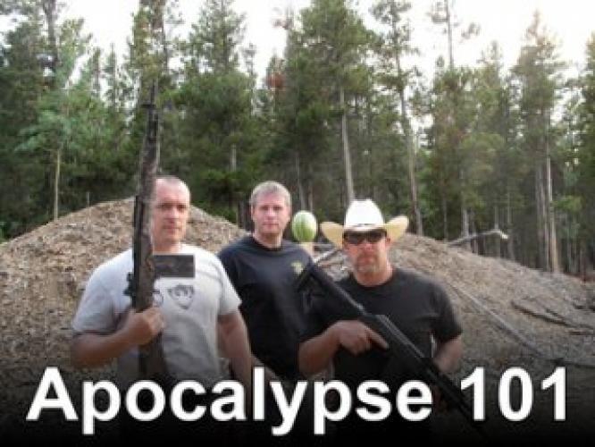Apocalypse 101 next episode air date poster