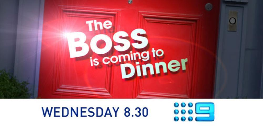 The Boss Is Coming To Dinner (AU) next episode air date poster