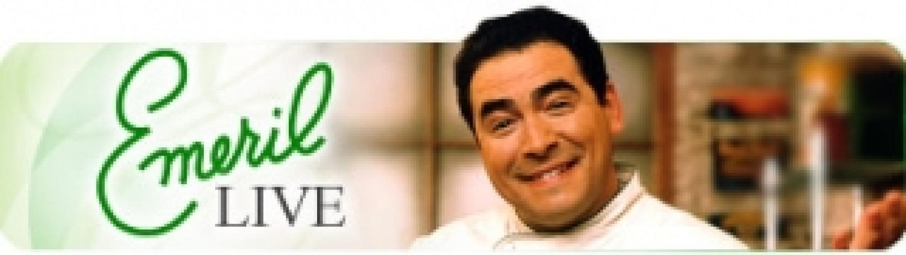 Emeril Live next episode air date poster