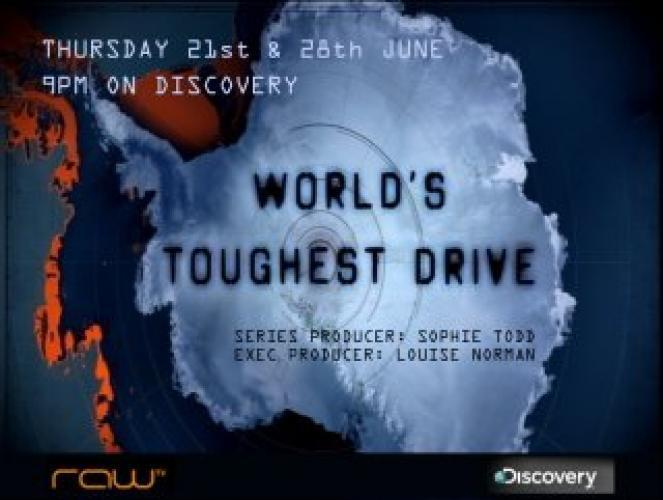World's Toughest Drive next episode air date poster