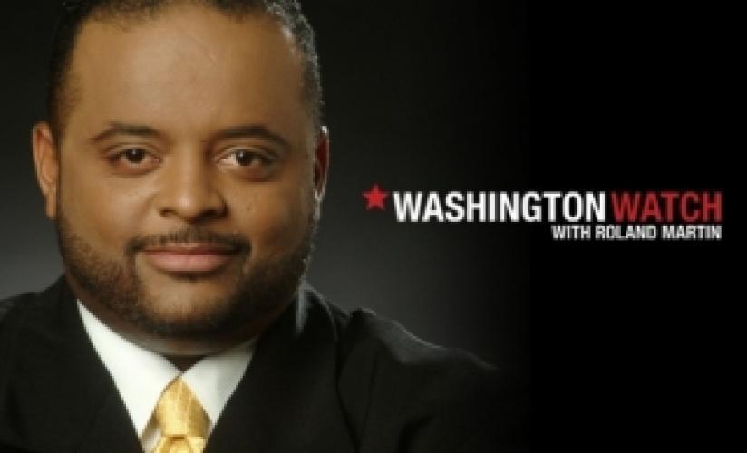 Washington Watch with Roland Martin next episode air date poster