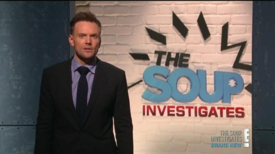 The Soup Investigates next episode air date poster