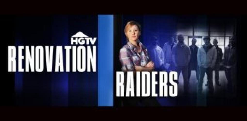 Renovation Raiders next episode air date poster