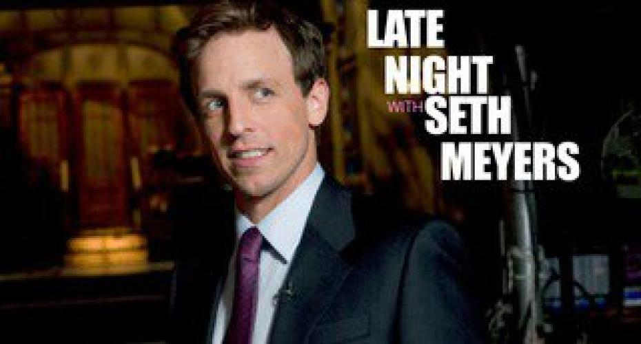 Late Night with Seth Meyers next episode air date poster