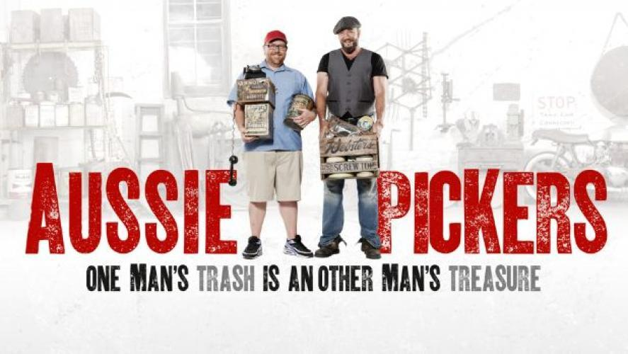 Aussie Pickers next episode air date poster