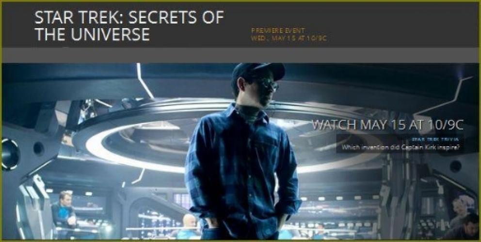 Star Trek: Secrets of the Universe next episode air date poster