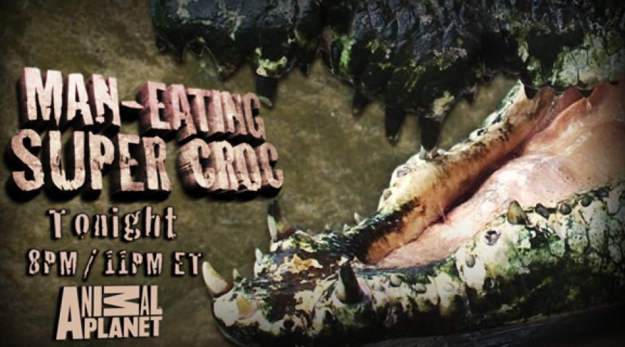 Man Eating Super Croc next episode air date poster