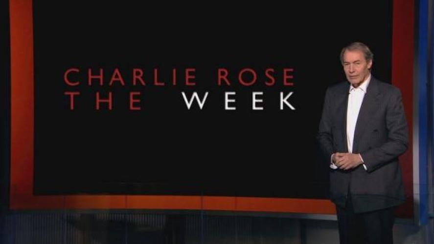 Charlie Rose: The Week next episode air date poster
